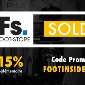 Soldes : Code Promo Foot-Store.fr -15% sur tous les produits