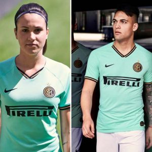 L'Inter Milan présente son maillot extérieur pour la saison 2019-2020