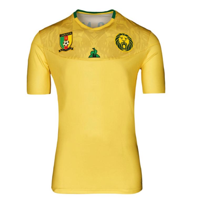 Le maillot extérieur du Cameroun 2019-2020