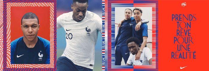 Maillot de Foot Equipe de France