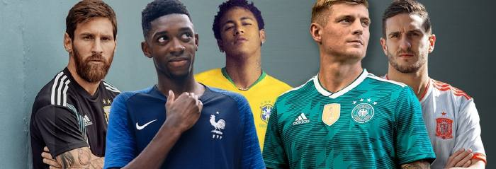 Maillot de Foot Equipes Nationales