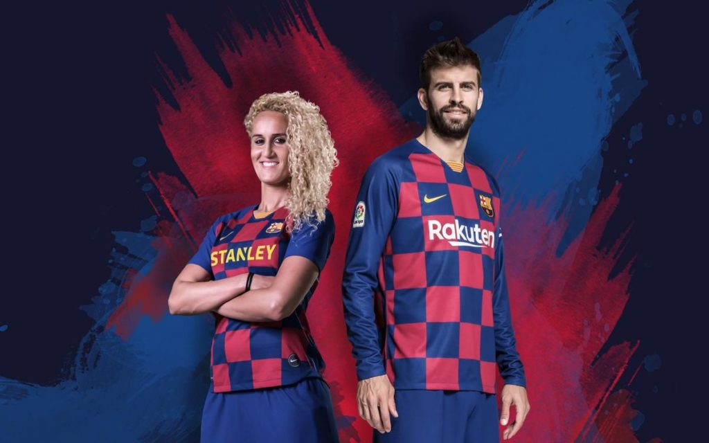 Maillot Domicile FC Barcelone - Saison 2019/2020