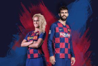 Le FC Barcelone dévoile son nouveau maillot domicile 2019/20