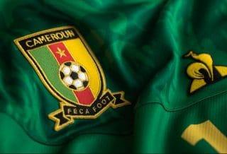Le nouveau maillot du Cameroun par Le Coq Sportif