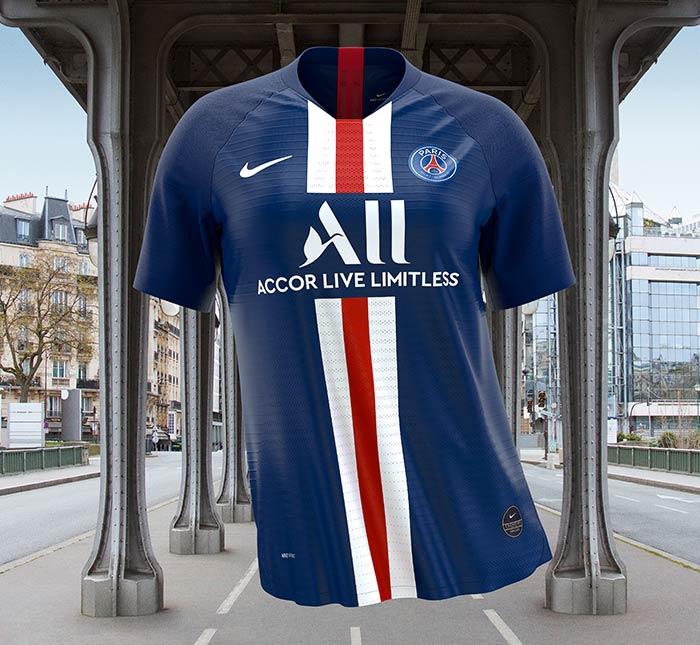 PSG : le nouveau maillot domicile dévoilé - Saison 2019-2020