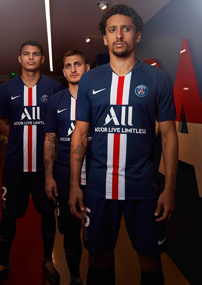 nouveau maillot domicile du Paris Saint-Germain - Saison 2019-2020