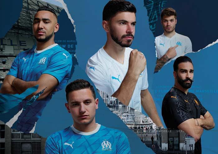 Nouveaux maillots OM 2019-2020