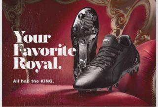Puma dévoile une nouvelle PUMA KING Platinum