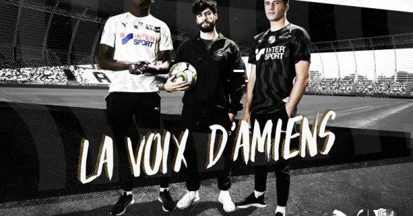 Amiens SC Maillot de Foot 2020