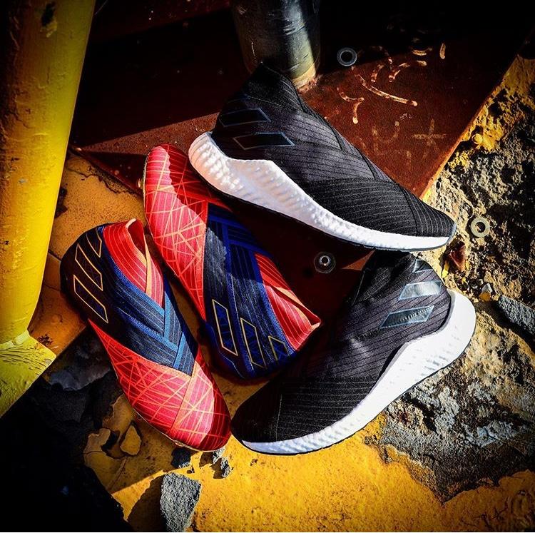 chaussure adidas Marvel Pack 2019 Nemeziz et AlphaBoost