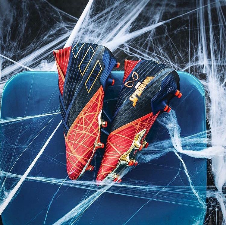 "chaussure Nemeziz 19 ""Spider-man"""