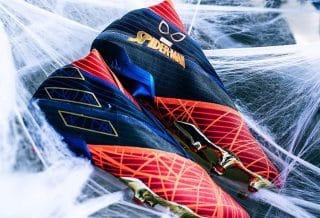"""Adidas Football dévoile la chaussure Nemeziz 19 """"Spider-man"""""""