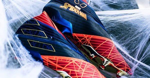 chaussure foot adidas spider man