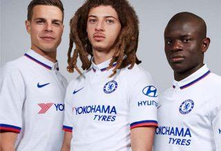Premier League - Chelsea présente son maillot extérieur 2019-2020