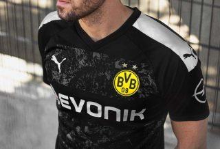 le Borussia Dortmund présente son maillot extérieur 2019-2020