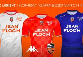 Le FC Lorient dévoile ses nouveaux maillots 2019-2020