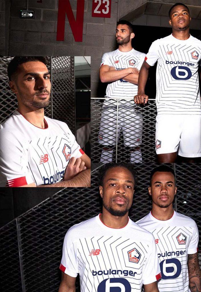 Lille maillot third ligue des champions 2019-2020