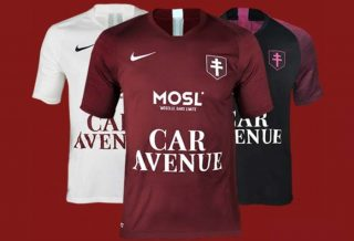 Le FC Metz présente ses maillots de foot 2019-2020