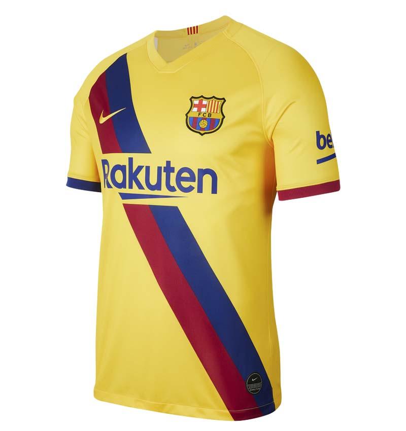 Le maillot extérieur du FC Barca 2019-2020