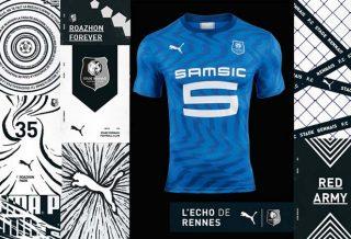 Le Stade Rennais dévoile un maillot extérieur bleu