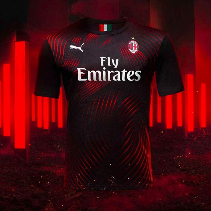 Troisième Maillot du Milan AC - saison 2019-2020
