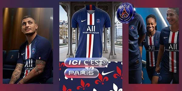 Maillot de Foot Paris Saint-Germain 2020