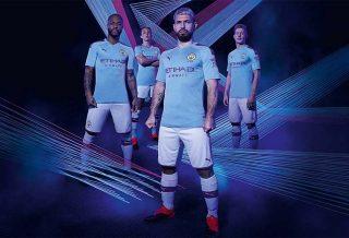 Les nouveaux maillots de Manchester City dévoilés par Puma