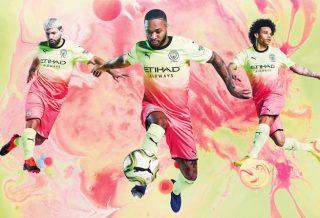 Manchester City : Le troisième maillot 2019-2020 est flamboyant