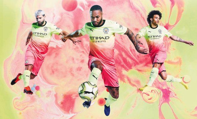 Manchester City Troisieme Maillot 2019-2020
