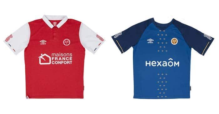 Reims nouveaux maillots 2019-2020
