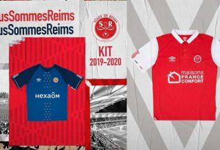 Reims dévoile ses nouveaux maillots 2019-2020