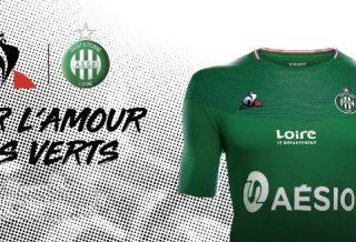 AS Saint-Etienne : les nouveaux maillots de l'ASSE dévoilés 2019/2020