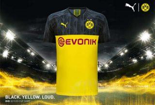 Borussia-Dortmund-Maillot-de-Foot-Coupe-2019-2020
