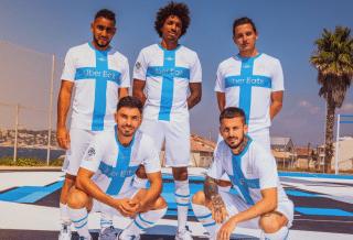 L'Olympique de Marseille et Puma dévoilent un maillot pour les 120 ans du club