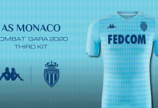 l'AS Monaco et Kappa dévoilent le maillot Third 2019-2020