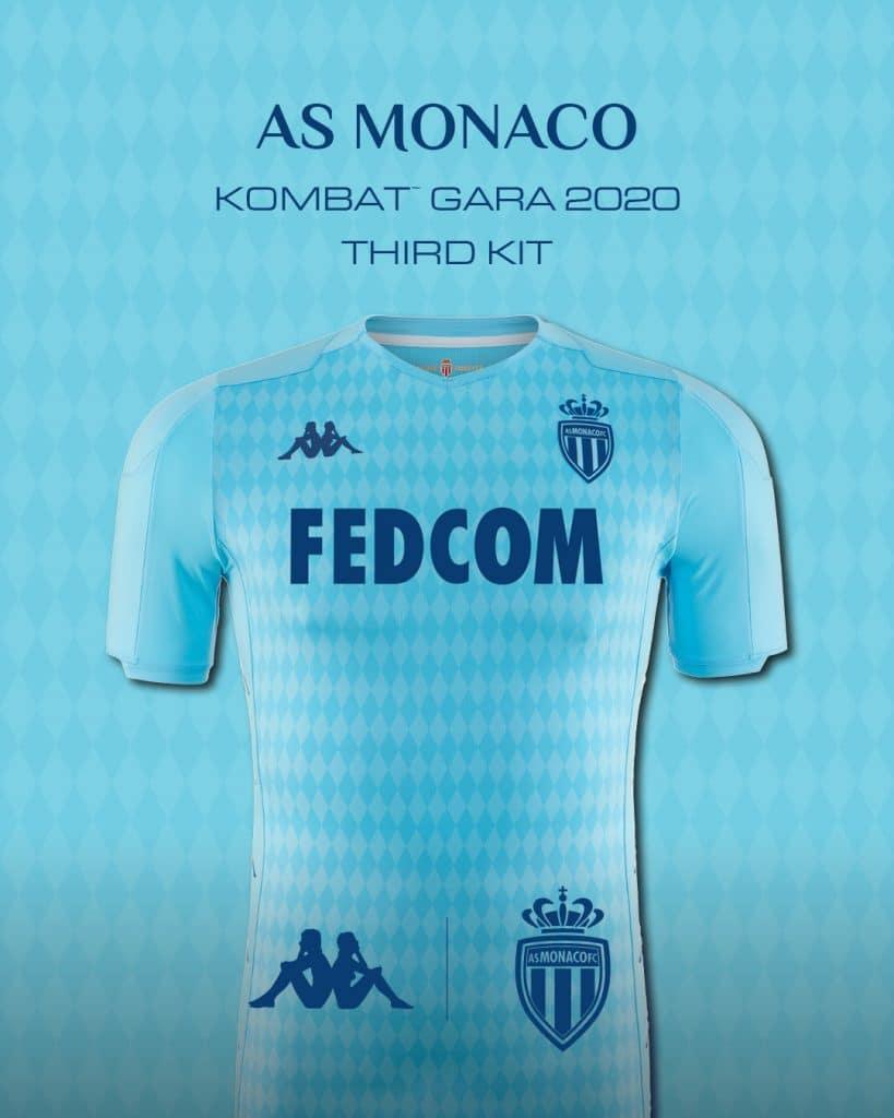 AS Monaco 3eme maillot 2020