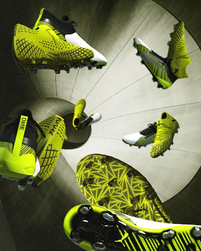 "chaussures de foot Puma One et Future ""Rush Pack"""