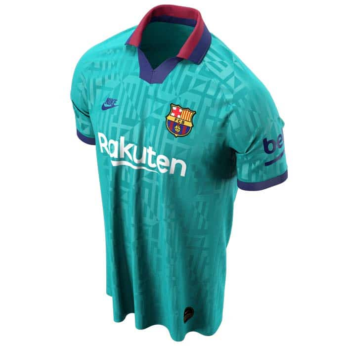 Fc Barcelone Le 3eme Maillot Third 2019 2020 Devoile Foot Inside