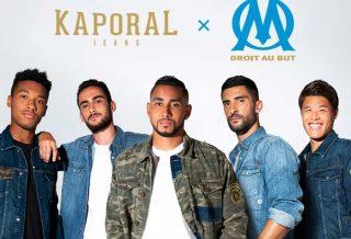 L'Olympique de Marseille lance une collection avec Kaporal
