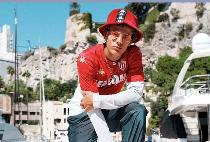 AS Monaco Maillot domicile 2020