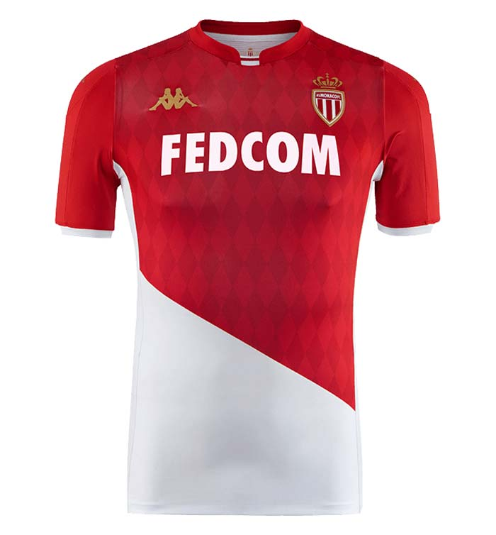 Top 7 AS Monaco Maillot Domicile 2020