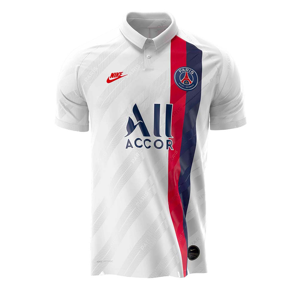 PSG le 3ème maillot 'Third Kit' du PSG