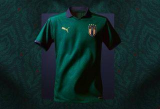 Le nouveau Maillot de l'Italie pour l'Euro 2020 inspiré de la Renaissance