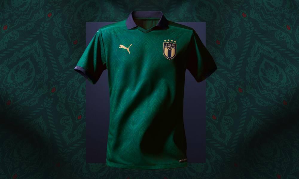 Maillot de Foot Italie Euro 2020