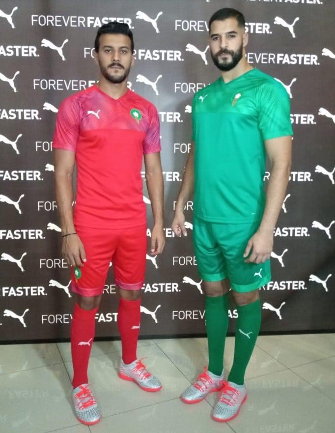 Maroc le nouveau maillot Puma 2020