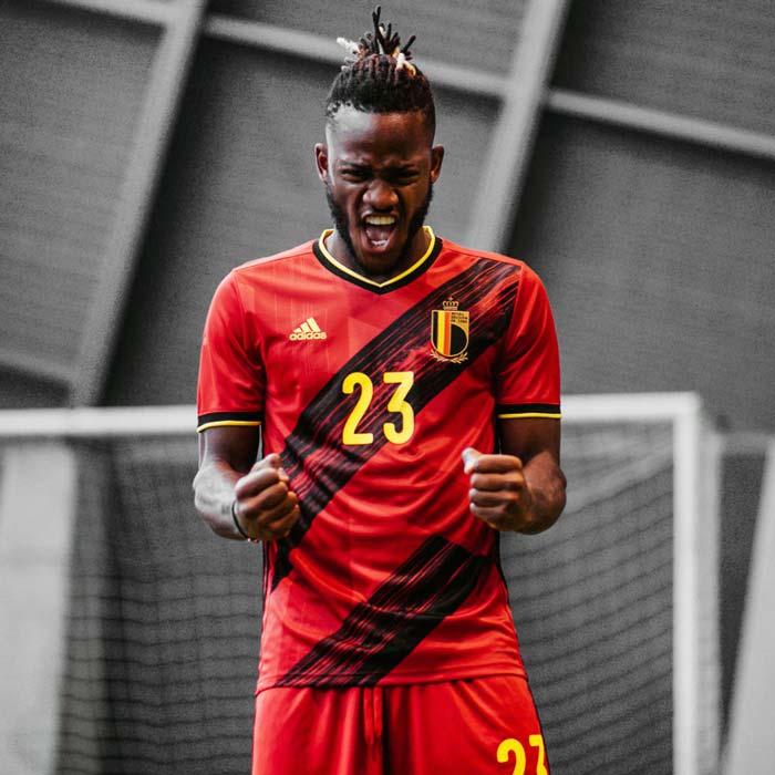 Belgique Nouveau Maillot de Foot pour l'EURO2020