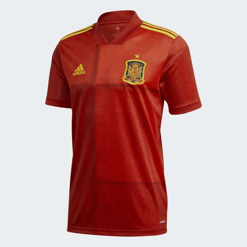 Euro 2020 Espagne Maillot Domicile FR8361
