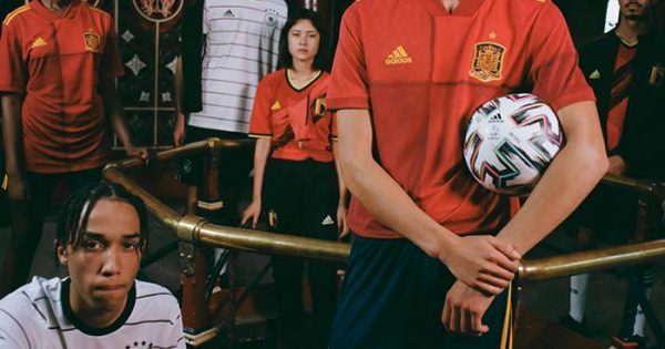 Euro 2020 Maillots de Foot Equipes Nationales adidas