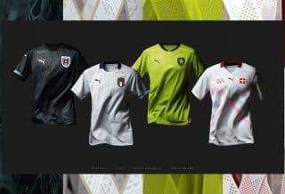 EURO 2020 : Puma dévoile les maillots extérieurs de ses équipes