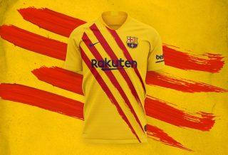 FC Barcelone : quatrième maillot Nike saison 2019-2020
